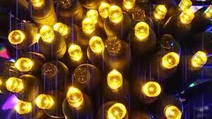 gold 5mm led twinkle lights