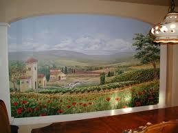 Dining Room Murals Morgan Mural Studios - Dining room mural