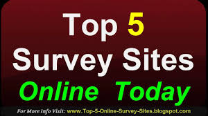 Money Making Online Surveys - online survey sites top 5 free survey sites to make money paid