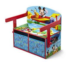 bureau 3 en 1 delta children banc bureau 3 en 1 mickey amazon fr cuisine maison