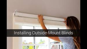 outside mount blinds pictures of bottom up outside mount shades