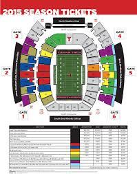 Texas Tech Campus Map Texas Tech Football Seating Map My Blog