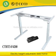 Electric Height Adjustable Desk Frame by 2017 Year New Design Adjustable Height Stand Up Desk Buy