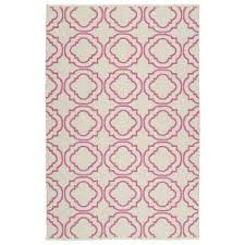 Pink Indoor Outdoor Rug Rectangle Pink Outdoor Rugs Rugs The Home Depot