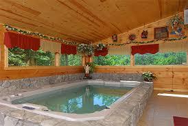 One Bedroom Cabins In Pigeon Forge Tn Skinny Dip Inn Is A One Bedroom Two Story Pool Cabin That Sleeps
