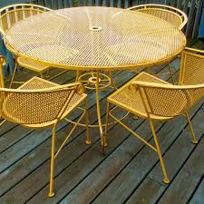 vintage metal patio chairs twinkle