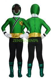power ranger kids costume samurai megazord green and black