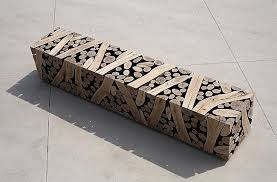 jae hyo creates awesome geometric wood sculptures that look