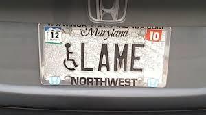 Vanity Playes Maryland Is Cracking Down On Vanity Plate Humor