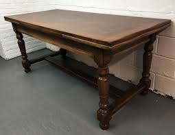 antique farmhouse dining table french extendable country walnut