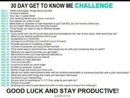 Challenge Meaning 30 Day Breaker Challenge 30 Dsy Get To Me Challenge Days