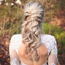 wedding hair half up half wedding hairstyles 50 stylish ideas for brides