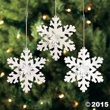 12 metal irridescent snowflake tree