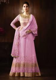 anarkali dresses floor length buy online usa lavender designer