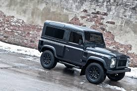 land rover defender matte black kahn land rover defender military edition with wide body kit