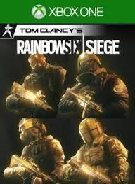 Buy Rainbow Six Siege Gold Tom Clancy S Rainbow Six Siege Pro League All Gold Sets On Xbox One