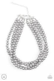 vintage silver choker necklace images Paparazzi accessories vintage romance silver choker jpg