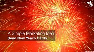 new year s cards simple marketing idea send new year s cards