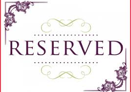 printable reserved table signs reserved seating signs template 279152 printable printable wedding