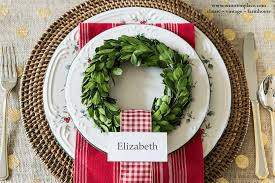 Vegetable Decoration For Christmas 35 christmas table decorations u0026 place settings holiday tablescapes