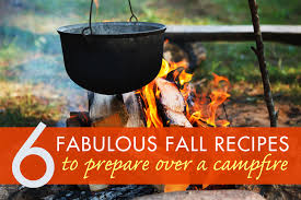 Cooking Over Fire Pit Grill - 6 cozy campfire recipes for fall inhabitat green design