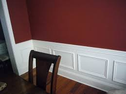 Red Color Kitchen Walls - painting wall 2 colors painting walls two colors as split by a