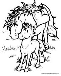feeding horse realistic coloring pages free print