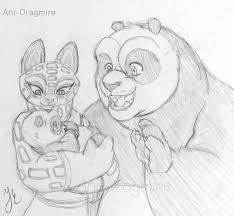 song po and baby panda by anidragmire on deviantart