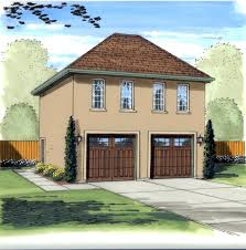 2 car garage with guest house plans