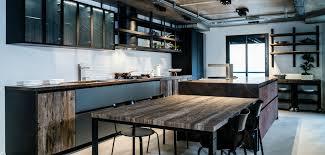 cuisine industriel cuisine style industriel on galerie avec cuisine style usine des