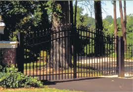 Garden Boundary Ideas by Jerith Aluminum Fence Gates Discount Fence Supply Inc