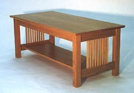 solid oak mission style coffee table neoteric ideas shaker style coffee table amish solid wood square