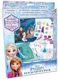 frozen activity packs games prima toys