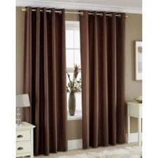White And Brown Curtains Brown Curtains Warm Yellowish Beige Walls White Area Rug I