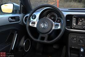 volkswagen beetle modified interior 2015 volkswagen beetle 1 8t review with video
