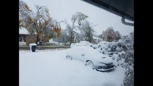 Worst Snowstorms In History Record Breaking Snowstorm Hits Rockies Heaviest October Snow In