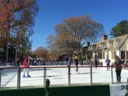 skating at colonial williamsburg