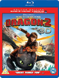 train dragon 2 3d includes ultraviolet copy blu ray