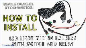 led light wiring harness with switch and relay single u2013 pressauto net