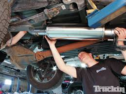 nissan frontier exhaust system ford f 150 boosting the ecoboost truckin magazine