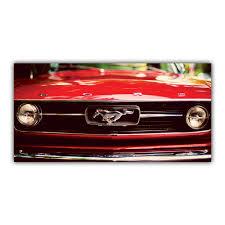 decoration vintage americaine mustang 1970 ford classique voiture américaine calandre arimaje