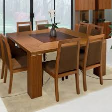 Contemporary Wood Dining Tables Dining Room Modern Wooden Dining - Best wood for kitchen table