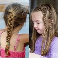 tutorial mengikat rambut kepang gaya rambut kepang manis untuk anak