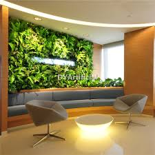 Indoor Garden Wall by Customized Indoor Outdoor Artificial Living Wall Dongyi