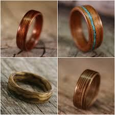 mens wood wedding bands mens wood wedding rings wedding