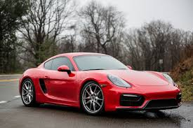guards red vs carmine red cayman gts