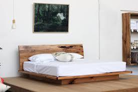 Bedroom Furniture Manufacturers Melbourne Sunrise Platform Bed Recycled Timber Furniture Melbourne Yard