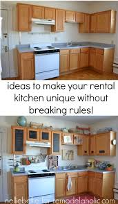 rental kitchen ideas rental house decorating ideas