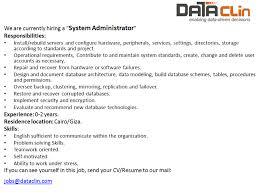 Clinical Data Management Resume Dataclin