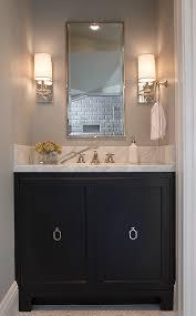 Black Bathroom Cabinet Black Vanity White Marble Top Design Ideas